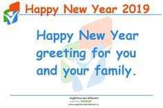 Happy New Year 2019 Happy New Year Greetings, Happy New Year 2019, Your Family, News