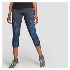 fe9de044aa687 Print Cropped Active Legging from Joe Fresh. Be ready for anything the day  throws at