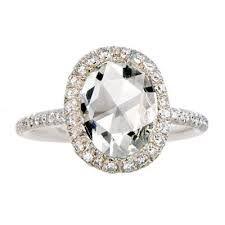 Rose Cut Diamond Ring | Engageme