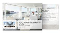 Immobilien Flyer Design - www.resign.ch/immobilien