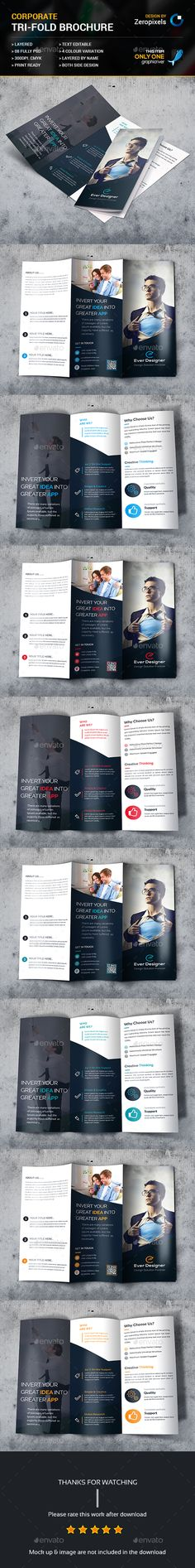 Trifold Brochure Template PSD. Download here: http://graphicriver.net/item/trifold-brochure/15352889?ref=ksioks