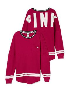 Varsity Crew either in yellow pink or white... I neeeeeed ittt