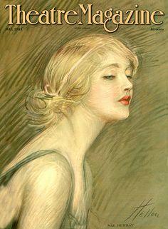 mirrormaskcamera:  Vintage Blog:  Theatre Magazine 1921