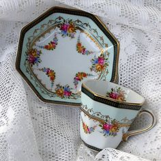 Sweet little teacup and saucer