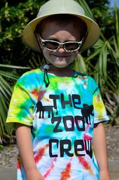 Flip Flops & Pop Tarts: It was All About the SHIRTS!!!!! A Zoo Crew cut with the Silhouette Cameo for adventures at the Virginia Zoo, Plus a...