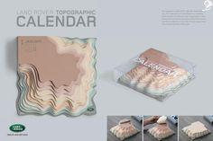 Topographic Calendar - Land Rover