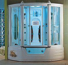 Steam Planet - Modern Steam & Shower Enclosure with Whirlpool ...