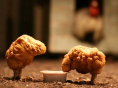 """Doctors at the University of Mississippi dissected two chicken nuggets, looked at them under a microscope, and were """"astounded."""""""