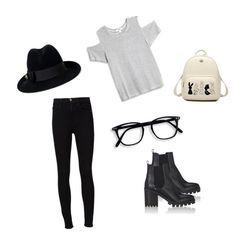 """""""Untitled #3"""" by diagageanu on Polyvore featuring Frame, LnA, Barneys New York and Gucci"""
