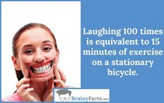 Laughing 100 times | BrainyFacts.net