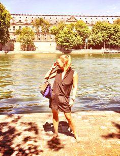Celine trapeze Paris casual street fashion!