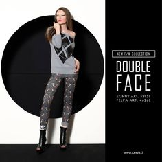DOUBLEFACE DRESS F/W COLLECTION 2015 2016