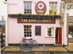 The Rose & Crown Pub, North Parade Avenue, Oxford, England