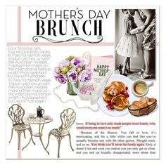 """Mother's Day Brunch"" by lalalaballa22 ❤ liked on Polyvore featuring interior, interiors, interior design, home, home decor, interior decorating, Mikasa, Wilton, Royal Albert and MothersDayBrunch"