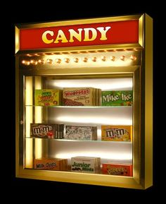 Candy Caddy for home theater