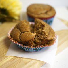 gluten free pb banana cupcakes