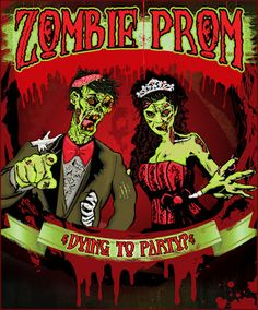 The Spooky Vegan: Halloween Party Planning Begins: Zombie Prom