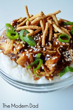 Slow Cooker Honey Teriyaki Chicken - The Modern Dad
