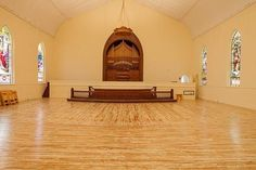 Gothic Church and Parsonage for sale in Kingston, NY.