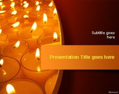 Free Festival of Lights PowerPoint Template is a free PowerPoint presentation design with candles to celebrate Diwali or Deepavali or the Festival of Lights