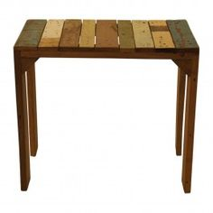 TAFEL RECYCLED HOUT - 34.00 euro