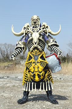 Debo Akkumoon is a sheep-like Debo Monster themed after sleep, created to serve Luckyuro to invade the dreams of the Kyoryugers to give them nightmares. Description from supersentai.com. I searched for this on bing.com/images