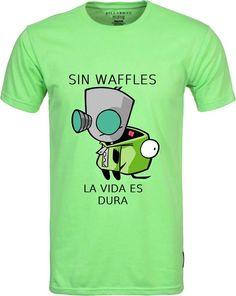 $179.00 Playera Invasor Zim Gir Waffles - Comprar en Jinx