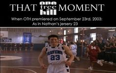 And there are 9 seasons, September is the 9th month. And the jersey #3 was worn as in the year '03.