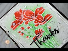 Prairie Paper & Ink: SSS Bouquet of Thanks Take 2 | Zig Clean Color Real Brush Markers