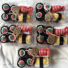 Play Sushi Bento. $15.00, via Etsy. This is adorable and affordable!