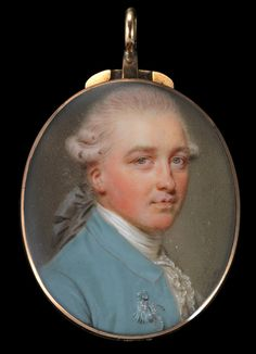 Smart (1741-1811) Portrait miniature of James Whatman 18th Century Clothing, Victorian Art, Watercolor Portraits, Old Master, Portrait Art, Beautiful Paintings, Paint Brushes, Old Pictures, French Antiques