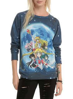 Sailor Moon Group Girls Pullover Top   Hot Topic