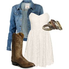 If I lived Country I would wear this everyday!