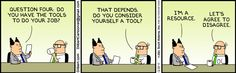 One of the best Dilbert.