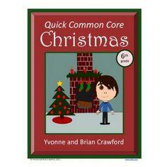 Christmas Math Quick Common Core (6th grade)