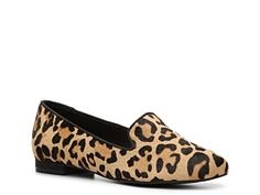 Have to have some leopard for fall. These are surprisingly comfortable. Kelly & Katie Dandy Leopard Flat.