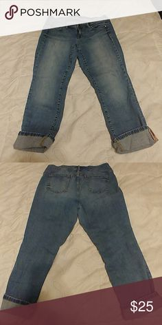 48266884a0f Torrid size 16 cropped denim These are a pair of Torrid denim cropped  pants. Size