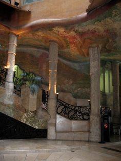 Gaudi architecture Barcelona, Spain