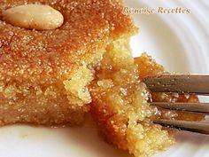 kalb ellouz 2 - Ideas (i will organize this once school is over) - Arabic Sweets, Arabic Food, Arabic Dessert, Palestine Food, Tunisian Food, Middle Eastern Desserts, Algerian Recipes, Semolina Cake, Ramadan Recipes