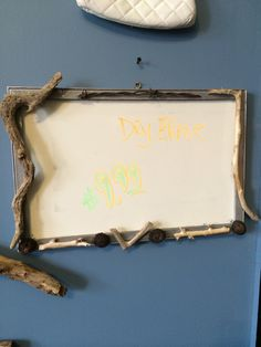 Dry erase board primitive  More items at  Www.facebook.com/whatworkz