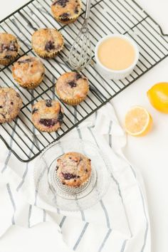I've made these orange glazed blackberry poppy seed muffins 3 times this past week! ohsweetbasil.com