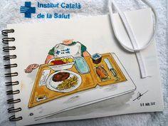 Foodscketching hospital
