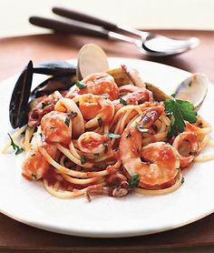Espagueti Frutti di Mare | ContigoSalud