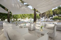 Chill out area - Canyamel Park Hotel & Spa #ChillOut #Relax #Drinks #Views #Mallorca #Canyamel #Terrace #Capdepera #Hotel #Canyamel