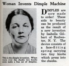 Dimple Machine | 15 More Very Questionable Retro Inventions
