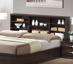 LIFE κρεβάτι διπλό με ράφια ΕΜ362 - SOFA KING Έπιπλα για το σπίτι και την επιχείρηση