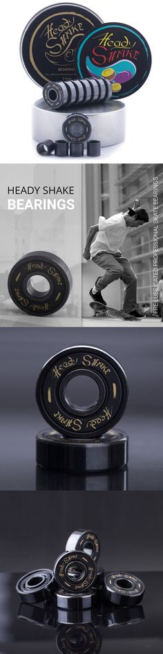 Bearings 36624: Pro Skateboard Bearings Pre Lubricated Premium Titanium Kick Scooter Longboard -> BUY IT NOW ONLY: $31.62 on eBay!