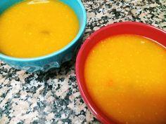Começamos a semana com uma sugestão para sopa. Sopa para mim, é das refeições mais reconfortantes para o inverno, por norma, ao domingo faço um panelão de sopa e todos os dias antes de jantar comem...