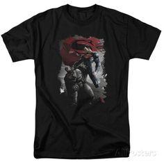 Batman vs. Superman- Steel Grip Shirt - at AllPosters.com.au
