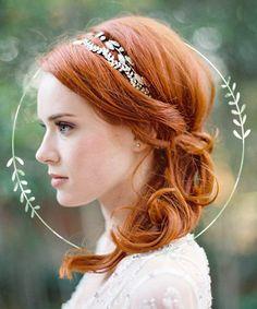 Wedding Hairstyles: Bridal Hair Accessories